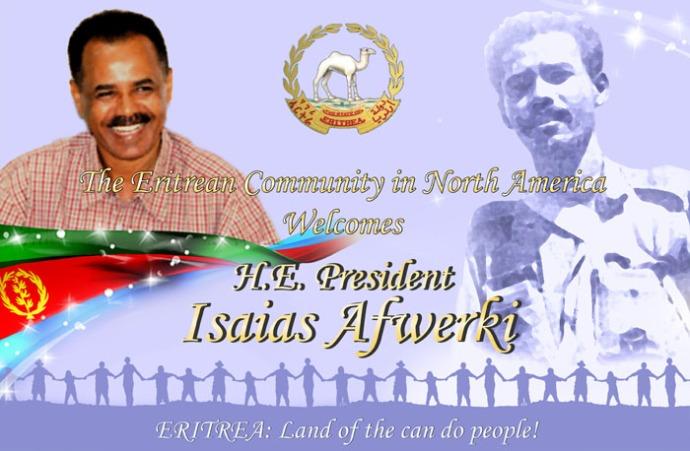 President Isaias Afwerki New York Poster