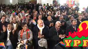 Eritrean Mekete London, UK, YPFDJ Tag