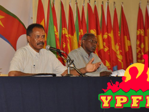 Nakfa Eritrean Youth Conference, YPFDJ Tag