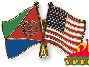 Eritrea US Flag Pins YPFDJ Tag