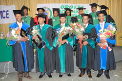 OB-GYN Graduating Class of 2012