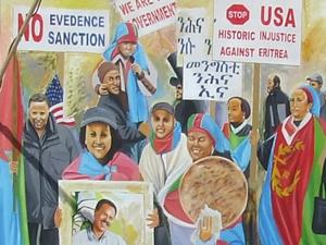 Eritrean Protest Sketch