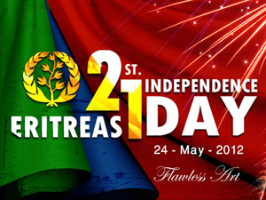 Eritrean 21st Indepence Day Banner by Flawless Art