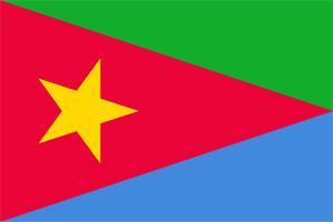 Eritrea Flag - EPLF (Shaebia)