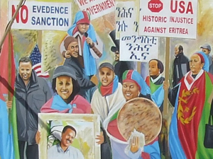 Eritrea Sanction Poster (Sketched)