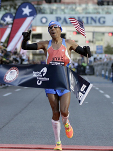 Meb Keflezighi Wins Olympic Trials in Houston