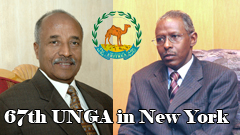 Eritrean Delegation 67th UNGA