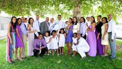 Meb Keflezighi family