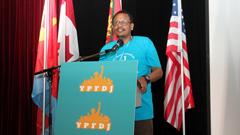 Zemhret Yohannes at YPFDJ Conference