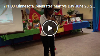 Martyrs' Day by YPFDJ-NA, Minnesota