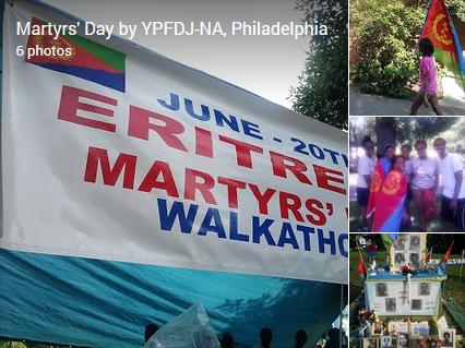 Martyrs' Day by YPFDJ-NA, Philadelphia