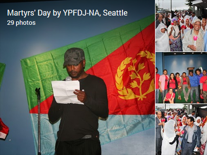 Martyrs' Day by YPFDJ-NA, Seattle