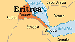 Eritrea Regional Map