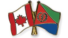 Canada Eritrea Flag Pins