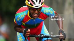 Eritrean Cyclist