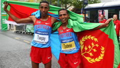 Eritrean Runners Samuel Tsegay and Zersenay Tadese