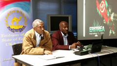 Eritrea Embassy Media Forum, London UK