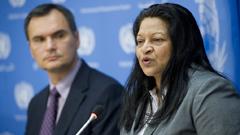 Sheila Keetharuth, UN Rapporteur, Eritrea
