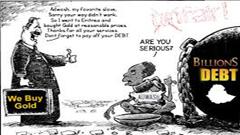 Depiction of Unfair Debt of Ethiopia