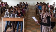 Education, Classroom, Teacher in Eritrea