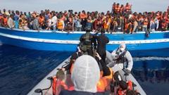Illegal Migrants Reaching Europe