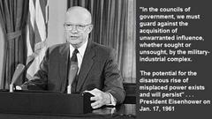 President Dwight Eisenhower - Military Industrial Complex