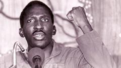 Burkina Faso's Thomas Sankara