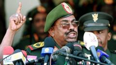Sudanese President Omer Hassan al-Bashir