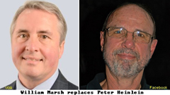 William Marsh Replaces Peter Heinlen, VOA