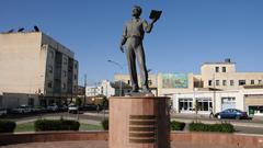 Alexander Pushkin Monument in Asmara, Eritrea