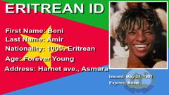 Eritrean ID (Madote) [16x9]