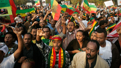 Ethiopians Protest Extradition of Opposition Leader