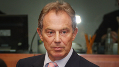 Former UK Prime Minister, Tony Blair