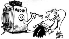 Media Spoonfeeding American Public