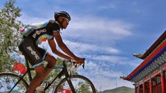 Meskeb Debesay, Eritrean Cyclist