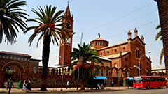 Asmara, Eritrea - Picture of Cathedral