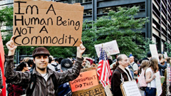 Human Being-Commodity, Occupy Wall Street