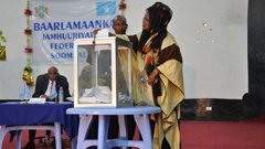 Somalia Politics, Somali Vote Cast