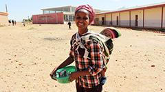 Worker at Eritrea, Mai Nefhi College of Education