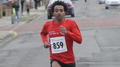 Abel Tsegay Eritrean UK Runner