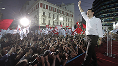 Alex Zipras, Greece Syriza Party Leader