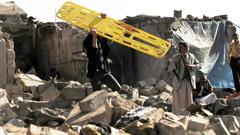 Saudi Arabia Airstrike on Yemen Houthis