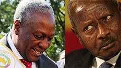 Ghana Compared to Uganda Government