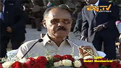 Eritrean President Isaias Afwerki Speech (2016 Independence)