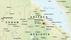 Eritrea-Ethiopia Border Clash Map