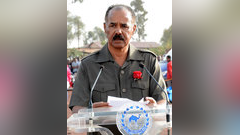 Eritrean President Isaias Afwerki (Martyr's Day)