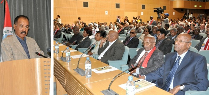 Asmara Palace Conference, Eritrea President Address