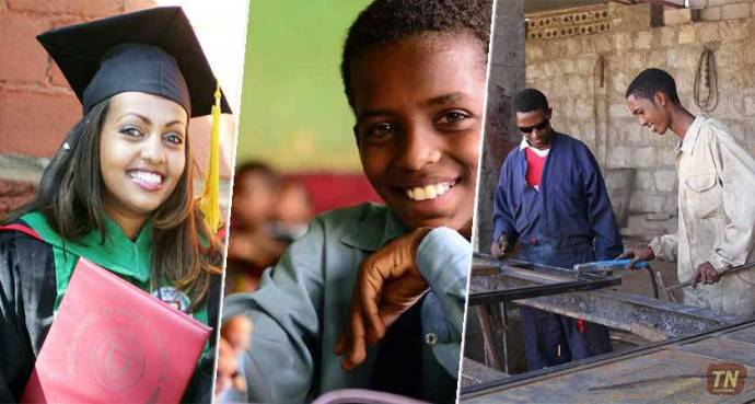 Africa - Education and Training in Eritrea