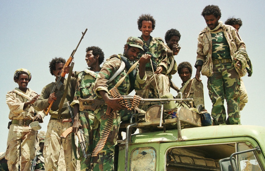 Eritrean Troops Recapturing Tesseney from Ethiopia