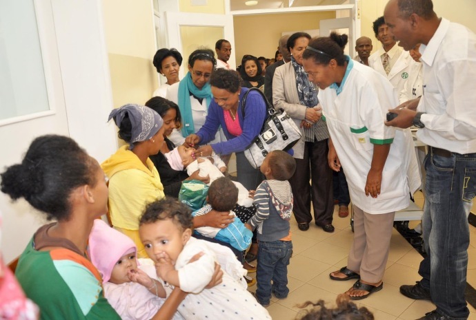 Immunization of Eritrean Children